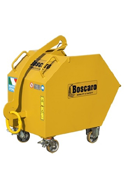800ltr Self Dumping Bin with Wheels
