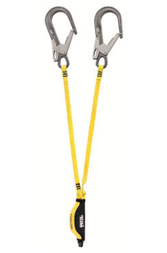 PETZL L64YAM150 ABSORBICA Double Lanyard
