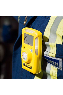 BW Clip 3yr Disposable Hydrogen Sulfide (H2S) Single Gas Detector