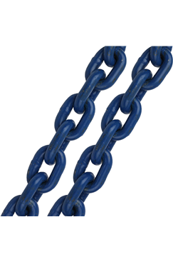 6mm High Tensile Multi Purpose Heavy Duty Chain, Blue Finish