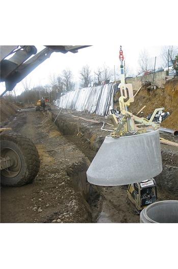 SVZ-UNI-UK Manhole and Cone Installation Clamp