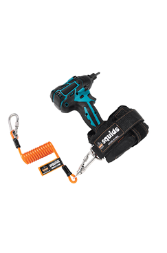SQUIDS 3130M Coiled Cable Tool Lanyard