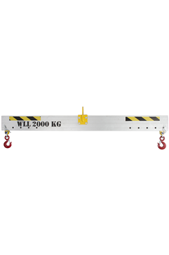 2000kg Adjustable Aluminium Lifting Beam x 1mtr