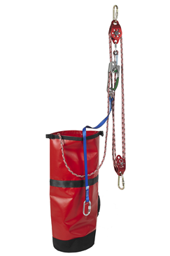 IKAR IKGBPOW10 10mtr Pre-rigged Rescue Pulley System