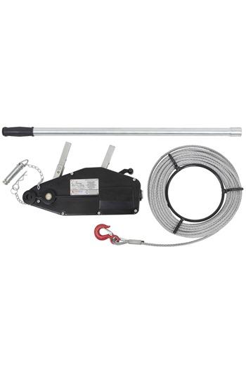 Wire Rope Winch 800kg c/w Winch Rope