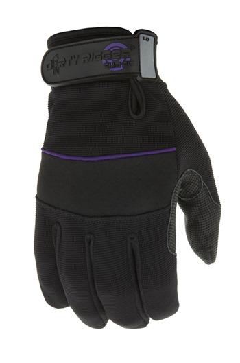 Dirty Rigger Ladies Slim Fit Full Finger Work Gloves