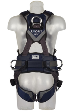 3M DBI-SALA ExoFit NEX Wind Energy Positioning Climbing Harness with Belt