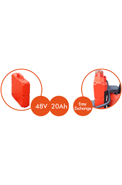 Spare Battery to suit BAT-TRUCK Battery Pallet Truck