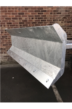 Fork Mounted Snow Plough Attachment 1800mm Blade Width