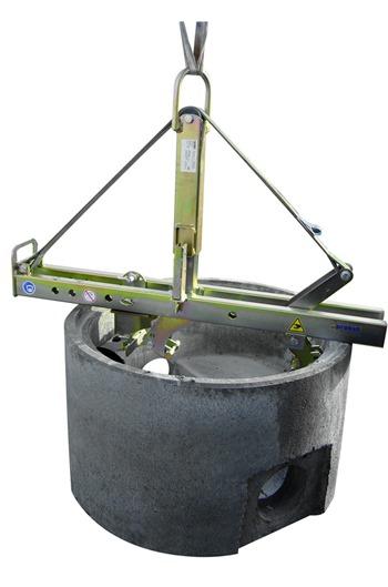 SVZ-ECO Manhole and Cone Installation Clamp