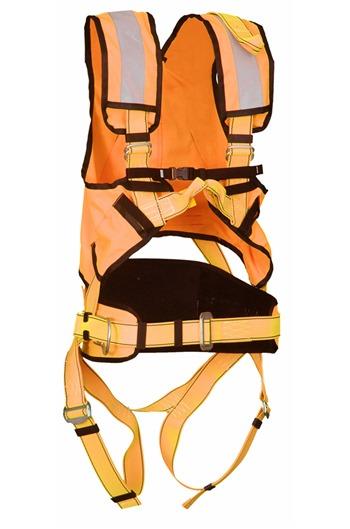 P50 Multi Purpose Safety Harness + High Viz (Orange)