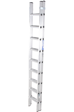 Heavy Duty EN131 Double Extension Ladder 4.7mtr
