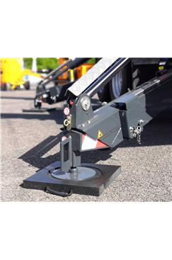 Ecolift 400x400x40mm Recessed Square Outrigger Pad