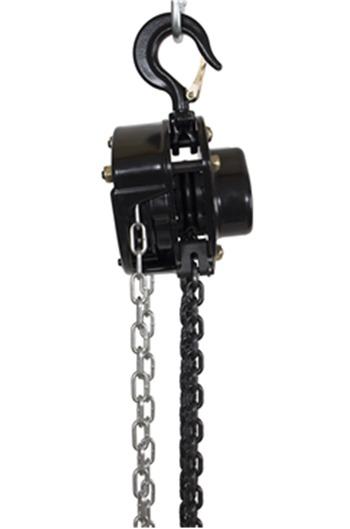 Reconditioned 1tonne Manual Chainblock x 6mtr HOL - full 1yr warranty