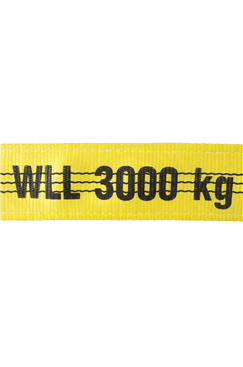 Webbing lifting Sling strops 3 tonne  Lengths from 1mtr to 12mtr