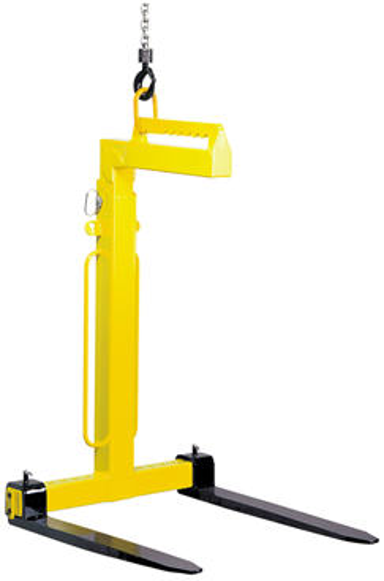 CAMLOK TKG1.0VH 1000kg Manual Balance Crane Forks