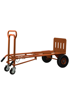 3 In 1 Heavy Duty Sack Truck Trolley with Pneumatic Wheels