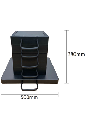 Eco-Stak Mix Kit 2 Stackable Jacking Blocks