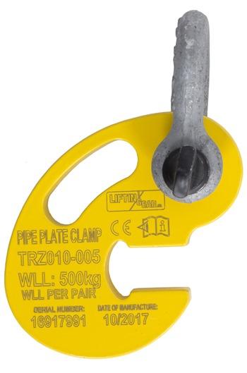 Aluminium Pipe Hooks 500kg capacity per pair