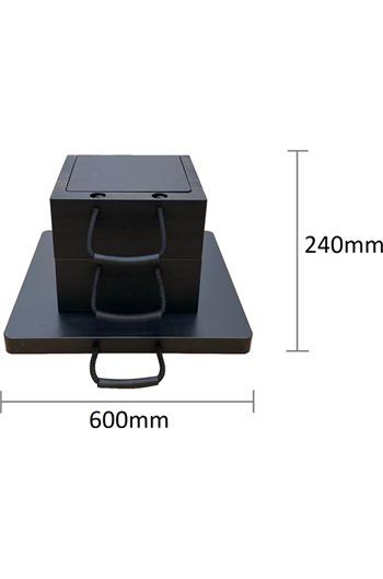 Eco-Stak Plus 100 Kit 2 Stackable Jacking Blocks