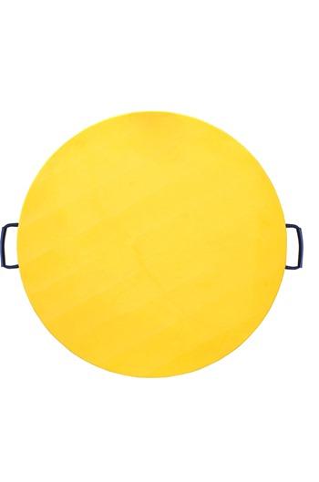 Hi-viz 1000x60mm Round Outrigger Pad