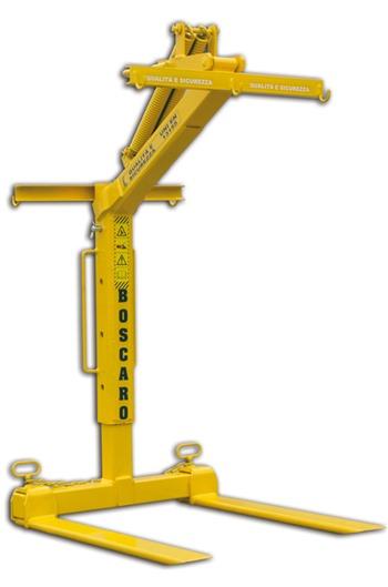 Crane Forks, Self Balancing, Adjustable, 2 tonne
