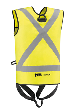PETZL C73JFV NEWTON EASYFIT Hi-viz Fall Arrest Harness