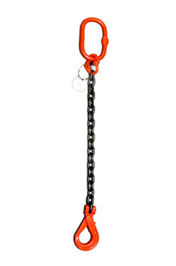 Weissenfel 3.15tonne 1-Leg Chainsling, Safety Hook