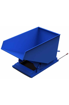 500ltr Heavy Duty Industrial Tipping Skip