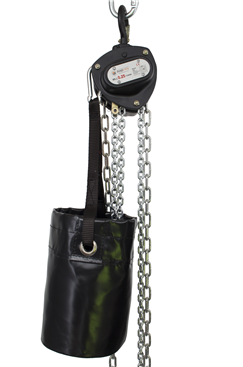 Small Chain Bag for Manual Hoists