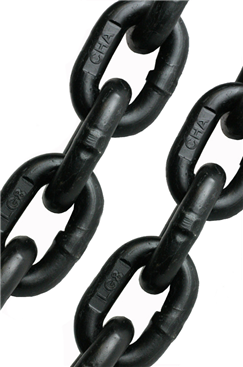 6mm High Tensile Multi Purpose Heavy Duty Chain, Black Finish