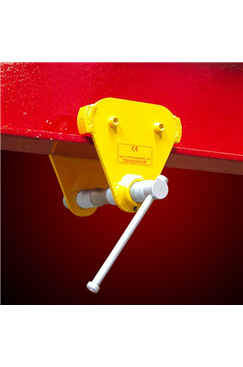 SUPERCLAMP 1016kg Adjustable Push Travel Trolley 50-175mm
