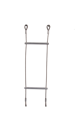 Lyon Compact Lightweight Galvanised Wire Rope Ladder