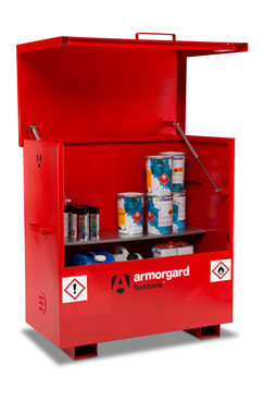 Armorgard FBC4 FlamBank Hazardous Site Storage Chest 1275x675x1270mm
