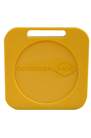 Hi-Pro 400x400x30mm Recessed Outrigger Pad
