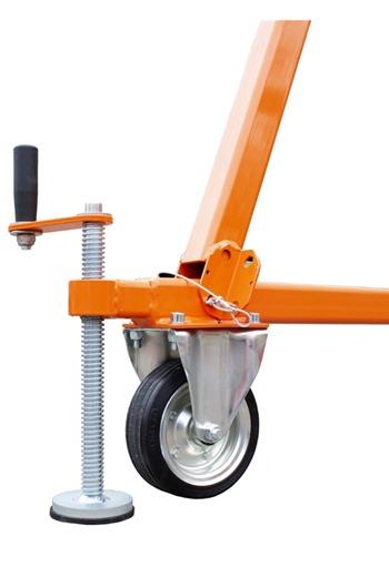 DW200 A-Frame Deadweight Anchor System c/w Test Weight Trolley