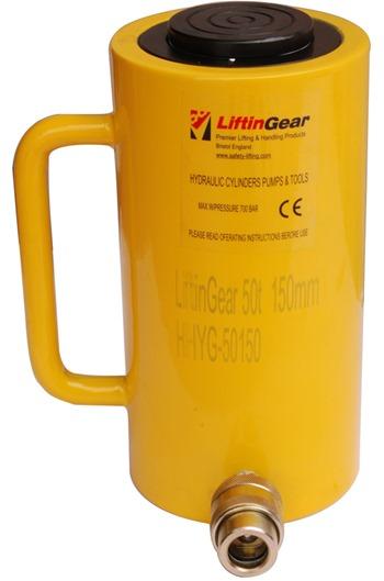 200 tonne x 150mm stroke hydraulic cylinder