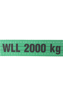 Webbing Lifting Slings , Strops 2 tonne Lengths from 1mtr to 10mtr