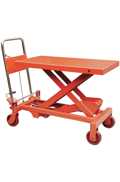 150kg Mobile Scissor Lift Platform Table Truck