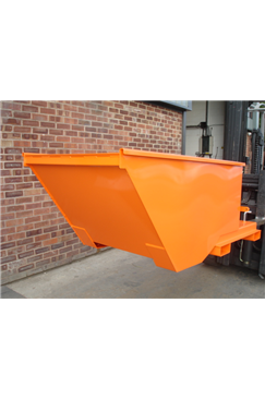 300kg Low Level Forklift Tipping Skip