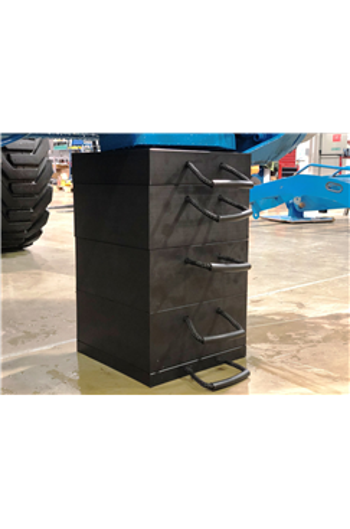 Eco-Stak Plus 50 Kit 4 Stackable Jacking Blocks