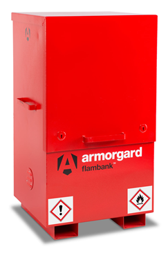 Armorgard FBC2 FlamBank Hazardous Site Storage Chest 765x675x1270mm