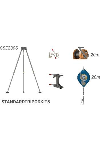 Globestock 20mtr Tripod,Winch & G.Saver II Kit