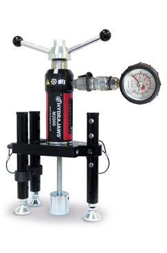 Hydrajaws M2000 PRO Pull Tester Kit with Analogue Gauge