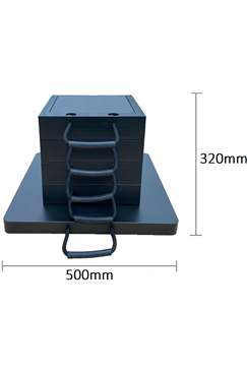 Eco-Stak 70 Kit 4 Stackable Jacking Blocks