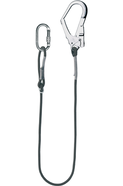 Fire/Flame Resistant Restraint Lanyard With Scaffold Hook