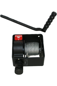 Hand Winch, Industrial type B, WLL 500kg, 10m,20m,25m.