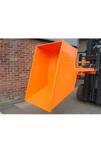 600kg Low Level Forklift Tipping Skip