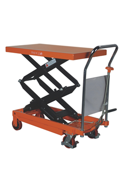 350kg Double Vertical Scissor Lift  Hydraulic Platform Table