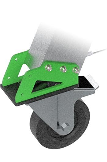 5000kg Aluminium Gantry, 4mtr beam, 2900-4700mm